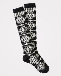 HARDING KNEE-HIGH SOCKS, BLACK, large