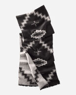 KIVA STEPS SCARF IN CHARCOAL
