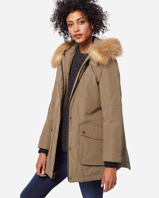 PENDLETON SIGNATURE DAWSON PARKA, TOFFEE, large