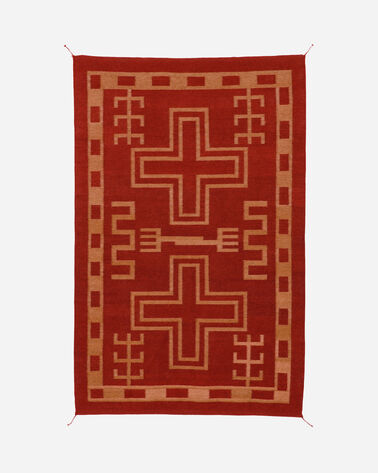 WILLIAMS RANCH RUG IN RED/GOLD