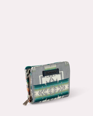 CHIEF JOSEPH CANOPY CANVAS WALLET, GREY, large