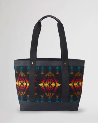 ALTERNATE VIEW OF ZIP TOTE IN BLACK ECHO CANYON