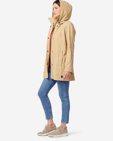 ALTERNATE VIEW OF WOMEN'S SONOMA WATERPROOF RAIN JACKET IN KHAKI