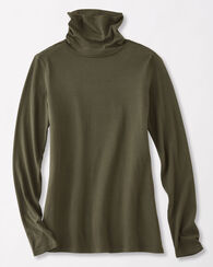 LONG-SLEEVE TURTLENECK JERSEY TEE
