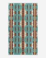 CHIEF JOSEPH SPA TOWEL IN AQUA