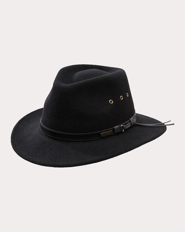 GETAWAY HAT, BLACK, large