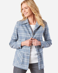 THE '49ER JACKET, SOFT BLUE PLAID, large
