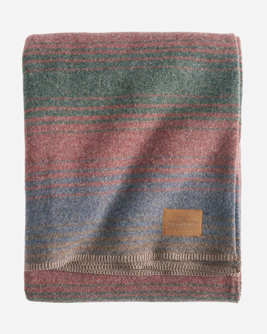 YAKIMA CAMP BLANKET in CLEARWATER HEATHER