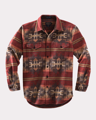FITTED PINETOP SHIRT, RED BROKEN ARROW, large