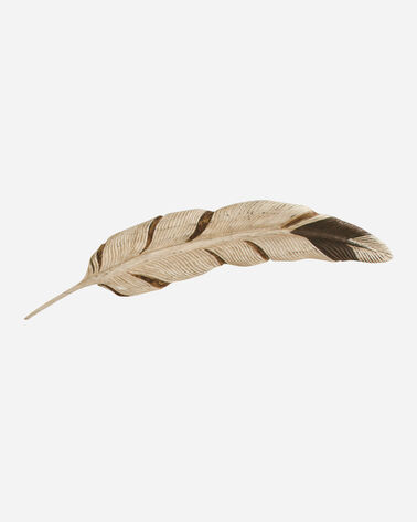 GOLDEN EAGLE FEATHER WALL ART IN MULTI