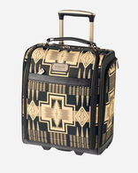 """16"""" HARDING ROLLING TOTE IN OXFORD HARDING"""