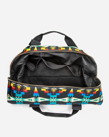 TUCSON CANOPY CANVAS WEEKENDER, BLACK/MULTI, large