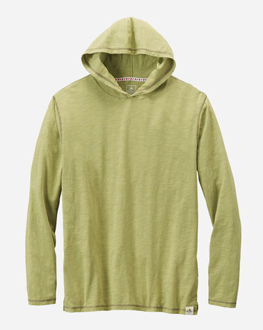 MEN'S OTTER ROCK HOODIE, SEAGRASS GREEN, large