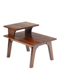 MAPLE SIDE TABLE, BROWN, large