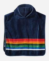 CRATER LAKE HOODED KIDS' TOWEL IN CRATER LAKE (NAVY)