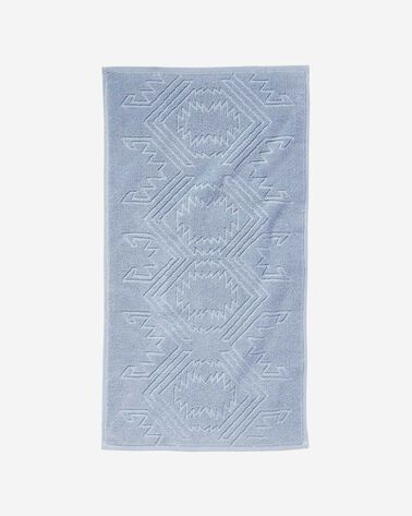 WHITE SANDS HAND TOWEL, BLUE, large