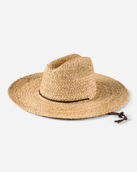 LIFEGUARD RAFFIA HAT, NATURAL, large