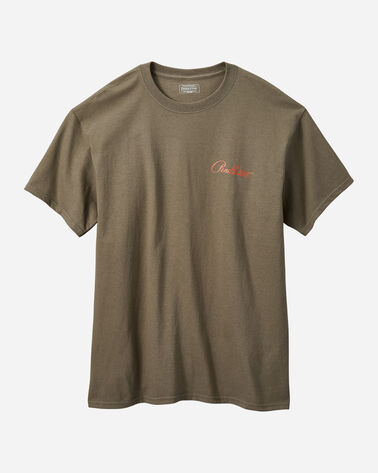 MEN'S DIAMOND PEAK TEE IN BROWN