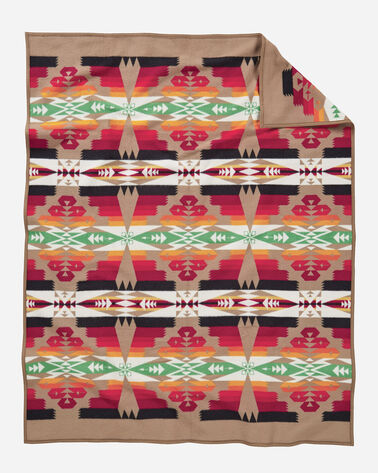 ADDITIONAL VIEW OF TUCSON BLANKET IN KHAKI