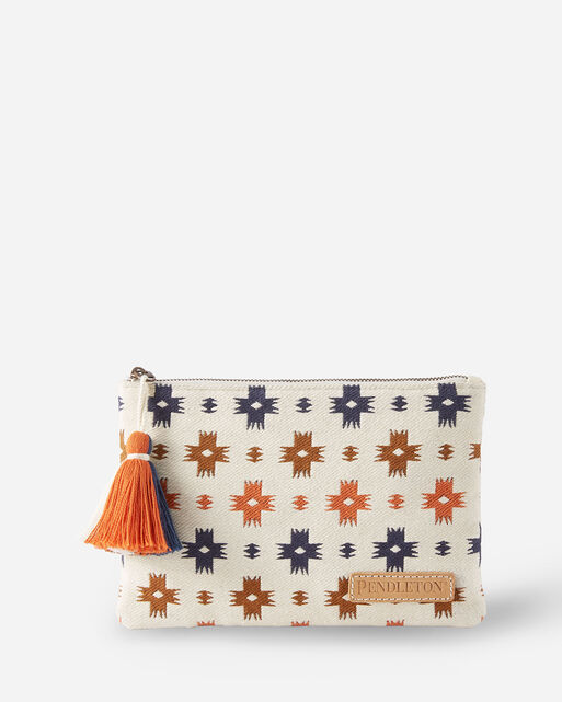 SWEET WATER COTTON ZIP POUCH