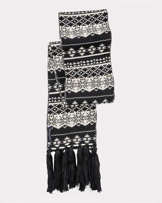 LONG FRINGED SCARF, , large