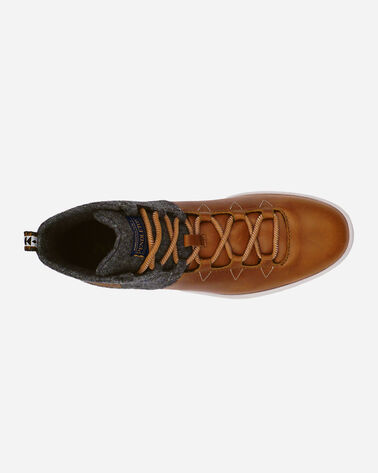 ADDITIONAL VIEW OF MEN'S TRONA PARK HIGH TOP SNEAKERS IN CARAMEL CAFE
