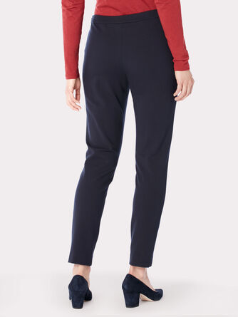 REED KNIT ANKLE PANTS, , large