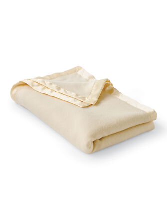 HEIRLOOM CLASSIC BLANKET, IVORY, large