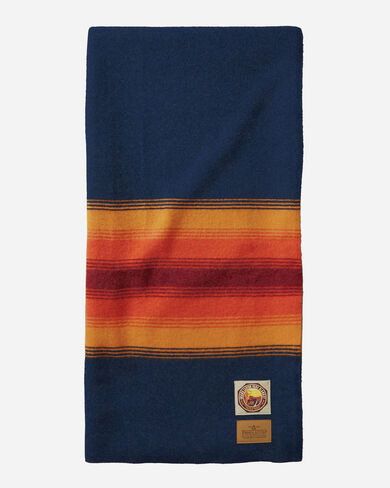 GRAND CANYON NATIONAL PARK THROW, NAVY, large