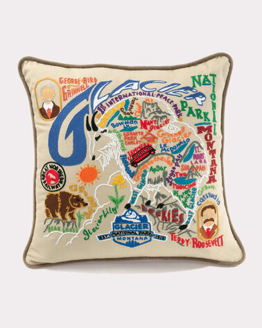 GLACIER PARK PILLOW, MULTI, large