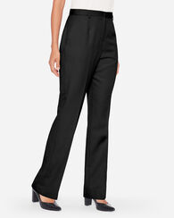 SEASONLESS WOOL TRUE FIT TROUSERS, BLACK, large