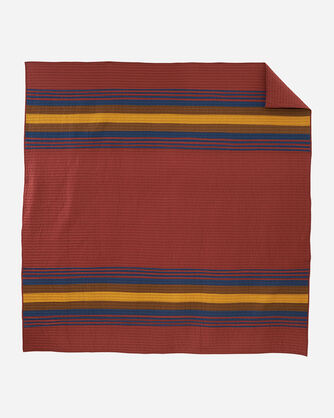 ALTERNATE VIEW OF ZION NATIONAL PARK PIECED QUILT SET IN ZION