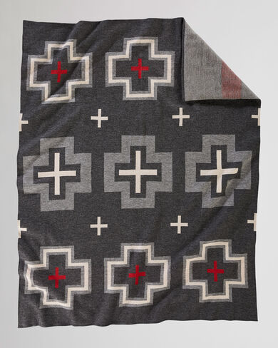 SAN MIGUEL KNIT THROW IN GREY