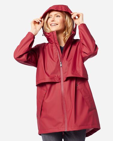 WOMEN'S CANNON BEACH JACKET IN RED
