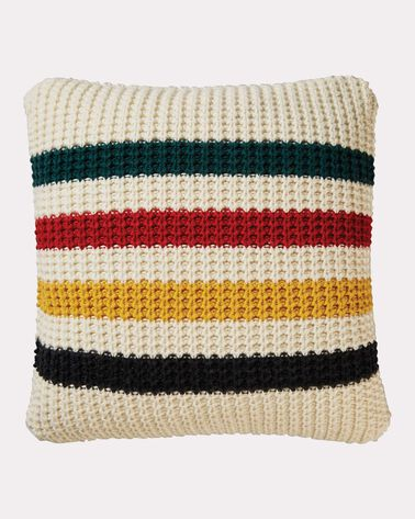 GLACIER PARK KNIT PILLOW