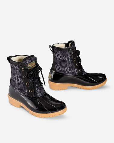 WOMEN'S HARDING DUCK BOOTS IN BLACK
