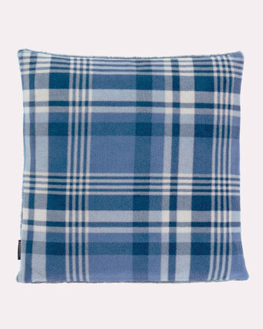 FLEECE PILLOW, TELLER PLAID, large