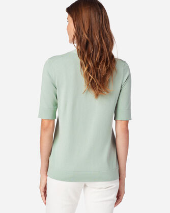 ALTERNATE VIEW OF WOMEN'S COLBY SUIT SWEATER IN JADEITE GREEN