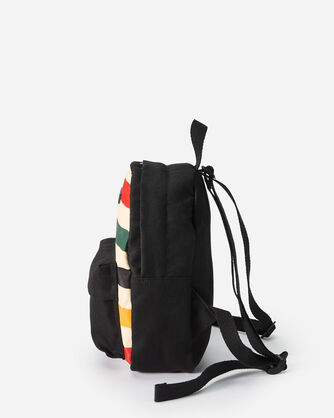 ADDITIONAL VIEW OF GLACIER CANOPY CANVAS MINI BACKPACK IN IVORY