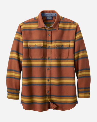 MEN'S DOUBLESOFT FLANNEL DRIFTWOOD SHIRT