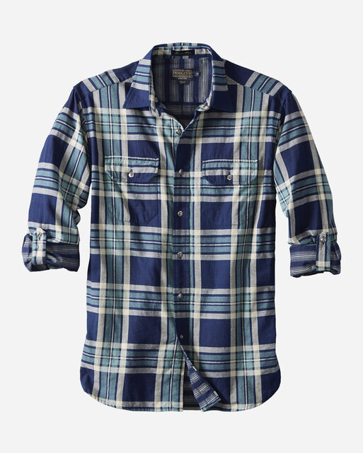 THOMAS KAY FITTED DOUBLE FACE SHIRT, , large