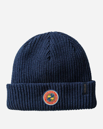 ADDITIONAL VIEW OF REVERSIBLE NATIONAL PARK STRIPE BEANIE IN CRATER LAKE STRIPE
