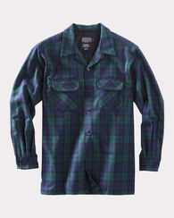 FITTED BOARD SHIRT, BLACK WATCH TARTAN, large