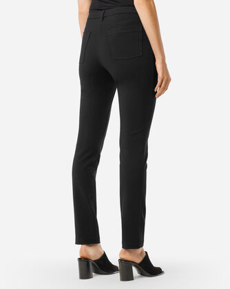 ADDITIONAL VIEW OF SLIM KNIT PANTS IN BLACK