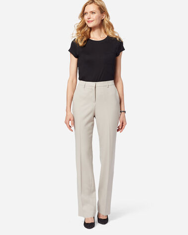 ADDITIONAL VIEW OF SEASONLESS WOOL LINED STRAIGHT LEG PANTS IN SANDSTONE
