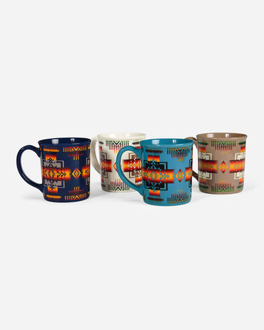CHIEF JOSEPH MUGS, SET OF 4 IN CHIEF JOSEPH MULTI     X