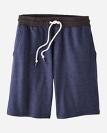 MEN'S DRAWCORD SHORTS IN NAVY HEATHER LOGO