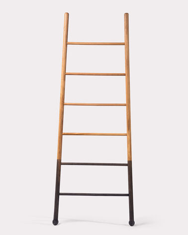 WIDE BLOAK LADDER, NATURAL, large