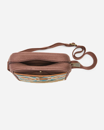 ALTERNATE VIEW OF CROSSBODY BAG IN JOURNEY WEST TURQUOISE