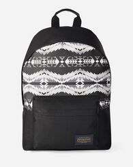 HAWKEYE CANOPY CANVAS BACKPACK, GREY/BLACK, large